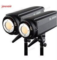 2x Godox SL 200W 200Ws 5600K Studio LED Continuous Photo Video Light Lamp w/ Remote CD50