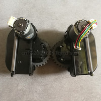 로봇 진공 청소기 용 원래 왼쪽 오른쪽 바퀴 ilife V3 + V5 V3 X5 V5s 로봇 진공 청소기 부품 바퀴 포함 모터