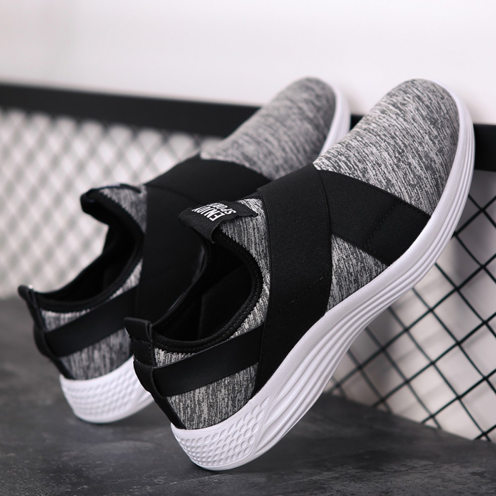 KLV Men Flats Shoes Mesh Breathable Shoes Casual Shoes sneakers Vulcanized Shoes Sneaker sapatilha sapatilhas normais #9