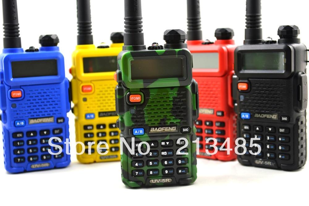 imágenes para Baofeng UV-5R 136-174 MHz y UHF400-520MHz Dual Band 5 W/1 W 128CH FM 65-108 MHz con Free Auricular Portátil Radio de Dos vías