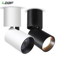 [DBF]Foldable LED Surface Mounted Downlight 7W 12W Black/White Housing 360 Degree Rotatable 3000K/4000K/6000K Ceiling Spot Light