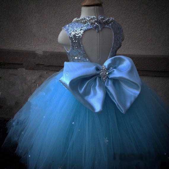 все цены на New Real Picture Girls Birthday Gown Puffy Tulle Beading with Bow Ball Gown Flower Girls Dress for Wedding Pageant Party Gown онлайн