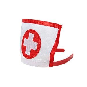 Image 5 - Body Cosplay de enfermera blanco, lencería de una pieza, Sexy, sin espalda, Teddy + Top erótico, Body de talla grande, picardías para mujer RL80674