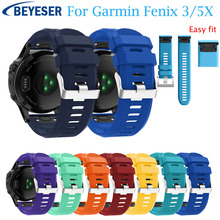 Wristband wristStrap for Garmin Fenix 5X Plus smartband For 3 HR Sport Replacement Quick release Easy Fit watchband