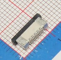 100 Pz/lotto 0.5mm-10 P Verticale Tipo FFC FPC Presa di 0.5mm Pin Passo Flessibile Connettore del Cavo Piatto