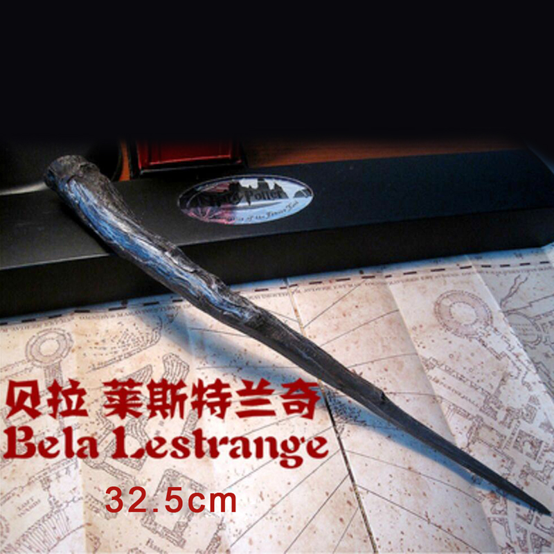 G06-X105 In box children boys birathday Best gift Harry Potter magic wand mini resin staff Bela Lrshtrange 1pcs