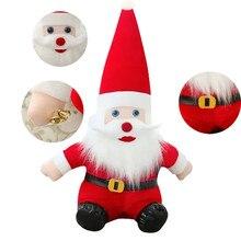 2017 Новая Мода Дед Мороз Плюшевые Игрушки Рождественский Подарок Плюшевые Игрушки детский День Рождения Подарок Рождественские Украшения для дома