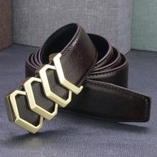High quality Blue belt men genuine leather slide buckle full grain leather Waist Strap fashion cintos masculinos luxury ceinture