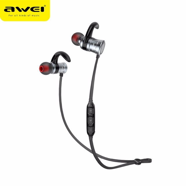 apple bluetooth headphones. awei ak5 bluetooth headphones waterproof sport earphones wireless magnetic earbuds stereo music headset for apple iphone samsung e