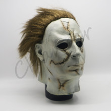 Scary Michael Myers Mask Horror Movie Cosplay Halloween Party Prop Adult Size
