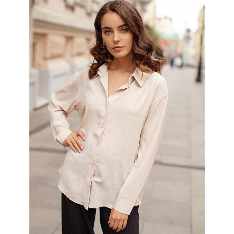 Blouse C.H.I.C striped lace spliced blouse