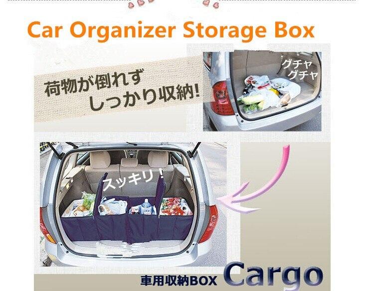 Large Capacity Car Trunk Folding Portable Organizer Storage Box