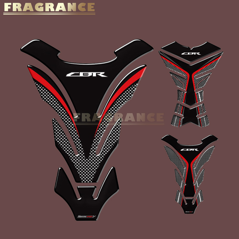Silver Motorcycle Gas Protector Sticker//3D Rubber Fuel Tank Pad Tankpad Protector Decal for Honda Cbr Cbr600rr 600rr 600 rr cbr1000rr 1000rr 1000 Cbr600f 600f