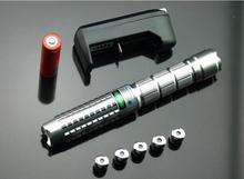 Promo offer High Power Military Green Laser Pointers 5000mw 5w 532nm SOS Flashlight Lazer Light Cigars Burning Match Burn Cigarettes Hunting