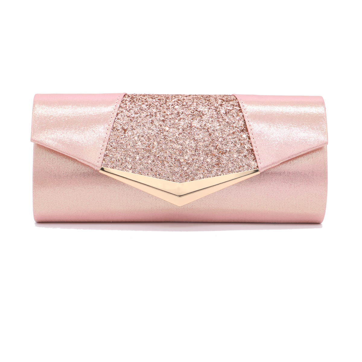 Crystal Sequin Evening Clutch Bags For Women 2019 Party Wedding Clutches Purse Female Pink Women Bags Pochette Mariage Sac Femme(China)