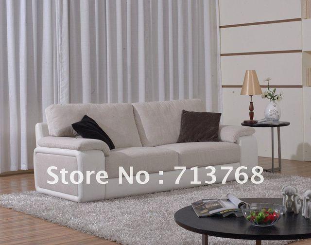 US $345.0 |Arredamento moderno/soggiorno divano in pelle/divano 3  posti/MCNO585B in Arredamento moderno/soggiorno divano in pelle/divano 3 ...
