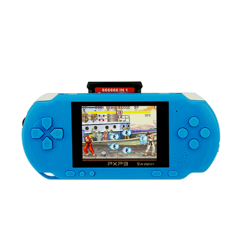 16 bit Portable Handeld Player Video Console PXP3 Video Game Consoles for Gift MP4 Music Player