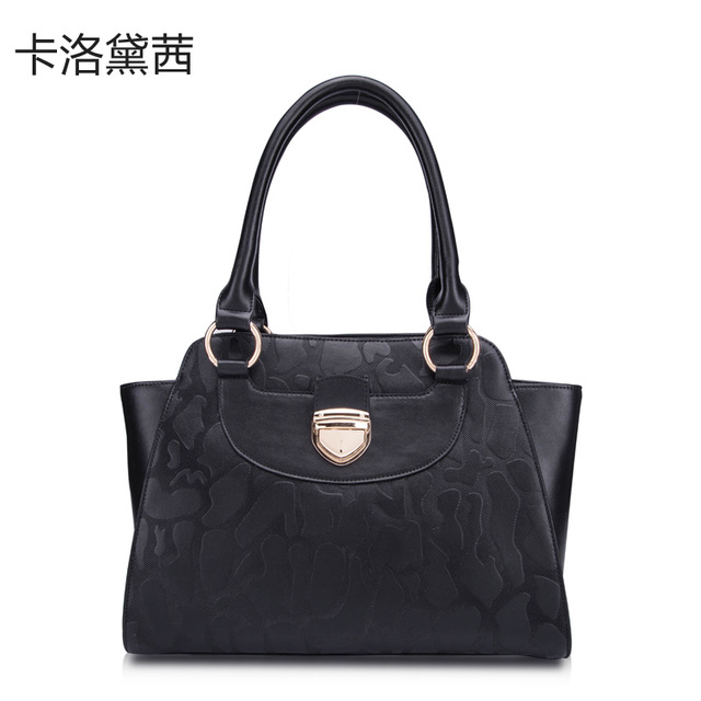 Women Leather Handbags   Coraldaisy  New    2013 European&American Style Autumn - winter Handbags  Stone Texture Handbag