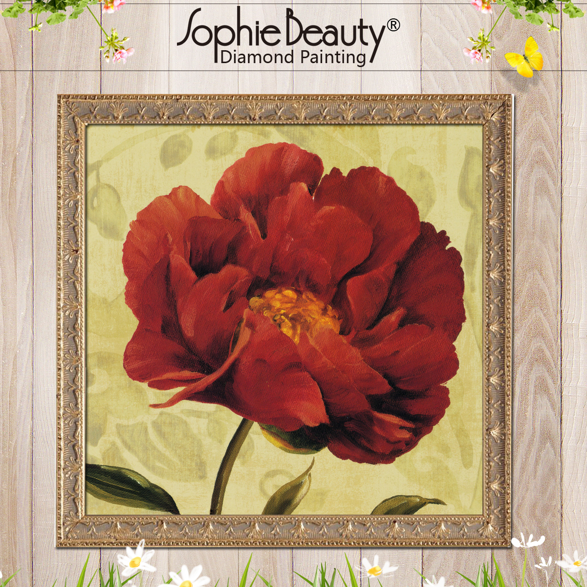 Sophie Beauty Hot Diy Round Square Diamond Painting Cross Stitch
