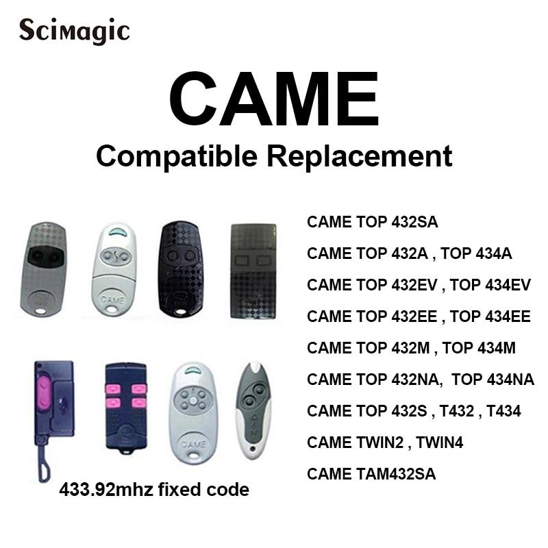 Reemplazo de alta calidad para el mejor precio. 4canales CAME TWIN4Compatible Mando a distancia CAME TWIN2 frecuencia 433,92MHz Fixed Code Cloner