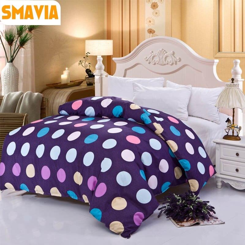 SMAVIA Home Textile Cozy Bed Duvet Cover 100% Polyester Quilt Blanket Comforter Cover(1pc) 150cm*200cm/180cm*220cm/200cm*230cm
