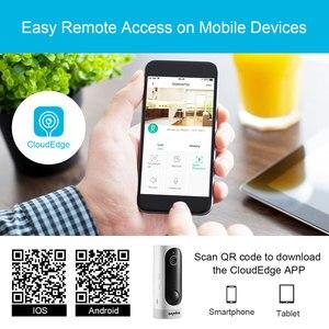Image 3 - Sannce 홈 보안 720 p hd 미니 ip 카메라 와이파이 무선 나이트 비전 카메라 3000ma 충전식 배터리 pir 카메라
