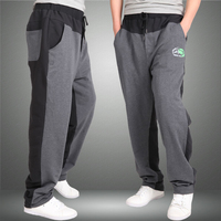 men Harem tactica Pants brand Sagging Military Trousers sporting Pant Big Size Plus Elastic Waist Elderly Baggy Jogger M 8XL