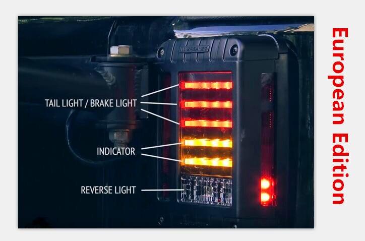 2007-2015-ci illər üçün LED quyruq - Avtomobil işıqları - Fotoqrafiya 5