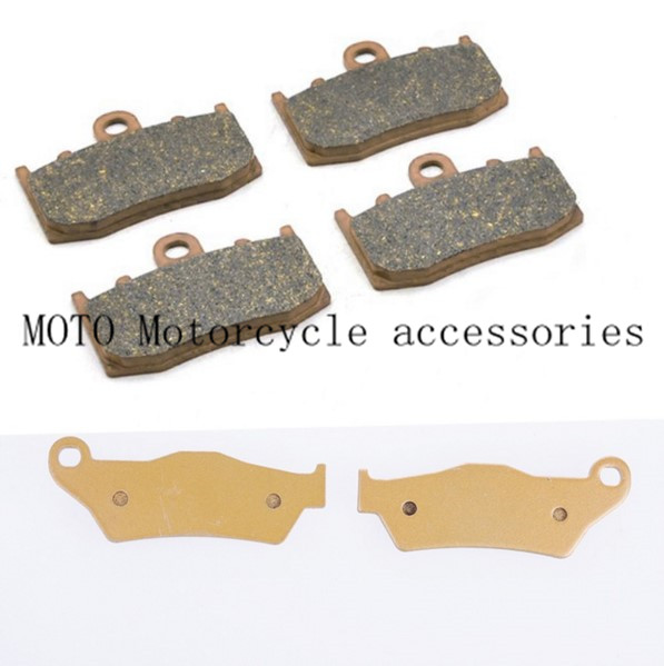 Motorcycle Front & Rear Brake Pads Set Motorbike Brake Pads For BMW R1100S 00-03 R1150GS 2001-04 R1150RT 2000-2004 R850RT 2006 mfs motor motorcycle part front rear brake discs rotor for yamaha yzf r6 2003 2004 2005 yzfr6 03 04 05 gold