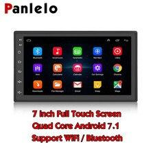 Panlelo 2 Din Quad Core Android 7.1 Dello Schermo di Tocco Multimedia 1 GB + 16 GB Car Stereo 7 Pollici 2din unità di testa di Navigazione GPS Audio Radio