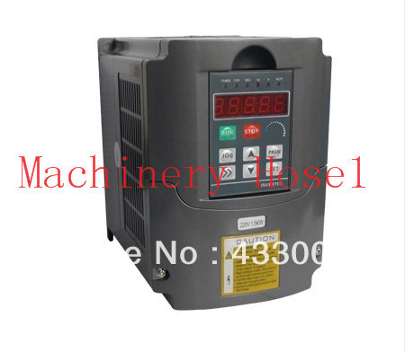 Variable Frequency Drive VFD Inverter 1.5KW 2HP 220V 7A 1.5kw inverter new variable frequency drive vfd inverter 1 5kw 2hp 220v 7a 1 5kw inverter with potentiometer knob 220v ac