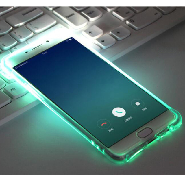 the latest f0c6c e2f8a Fashion Called LED Flash Light TPU Case For Samsung Galaxy S6 S7Edge ...