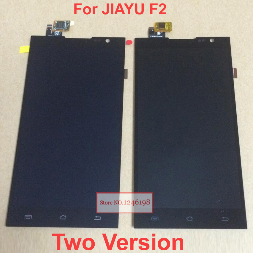 Negro Nueva JY-F2 Pantalla LCD + Pantalla Táctil de Cristal Del Panel Del Digiti