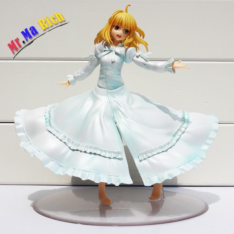 Aile d'anime dernier épisode destin séjour nuit sabre figurine Action jouet Pvc à collectionner modèle poupée 21 cm