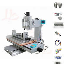 все цены на metal cnc engraving machine wood router 2200W cnc router 3040 Column Type cnc machine Drilling 5 axis cnc Milling Machine онлайн