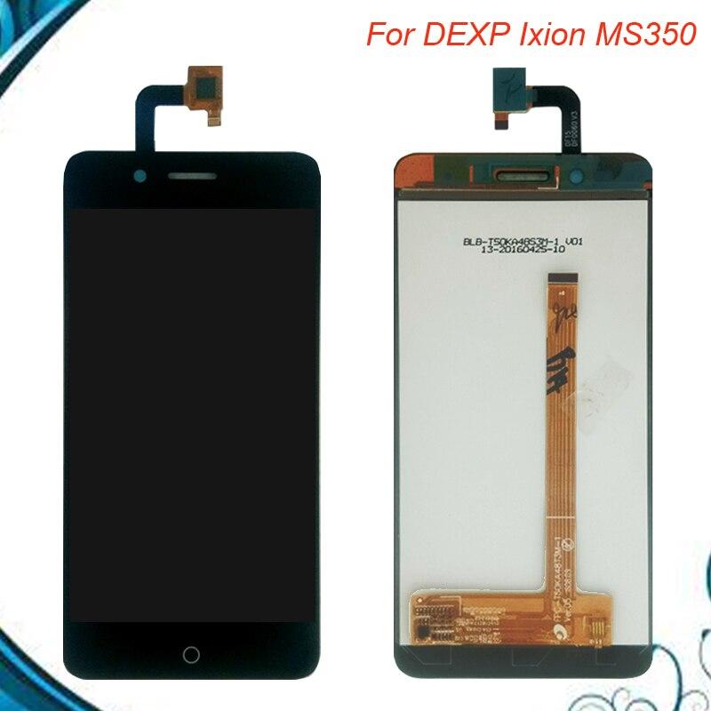 Nouveau 5.0 pouces pour DEXP Ixion MS350 LCD assemblée affichage + écran tactile panneau de remplacement pour DEXP Ixion M350 téléphone portable en Stock