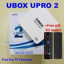 Unblock Tech UBOX 4 PRO OS Version UPRO Android 7 Bluetooth HD 1080P 4K UBTV IPTV Smart