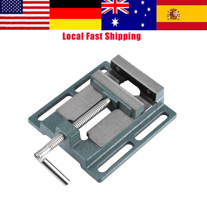 1Pcs Heavy Duty 4 Opening Size Drill Press Vice Milling Drilling Vise table Clamp Machine Vise Workshop Tool ferramentas Hot
