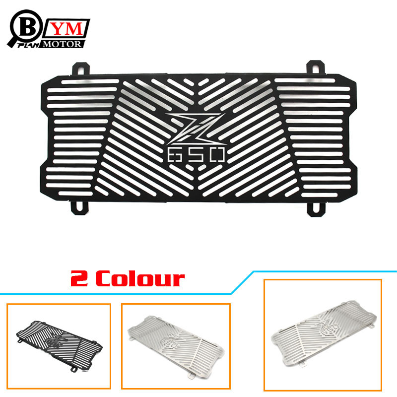 For Kawasaki Z650 Z 650 z650 New Motorcycle Stainless Steel Radiator Grille Guard Protection For Kawasaki Z650 Z 650 z650 2017 for kawasaki z750 z 750 2007 2015 2011 2012 2013 2014 stainless steel motorcycle black radiator grille guard protection cover