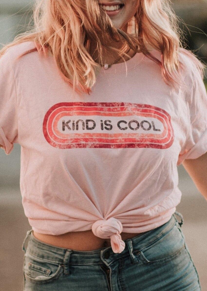 Rosa Top Frauen T-shirt 2019 Sommer Tops T Mode Art Ist Coole Druck Oansatz T-Shirt Tees Casual Kurzarm Top weibliche Tees