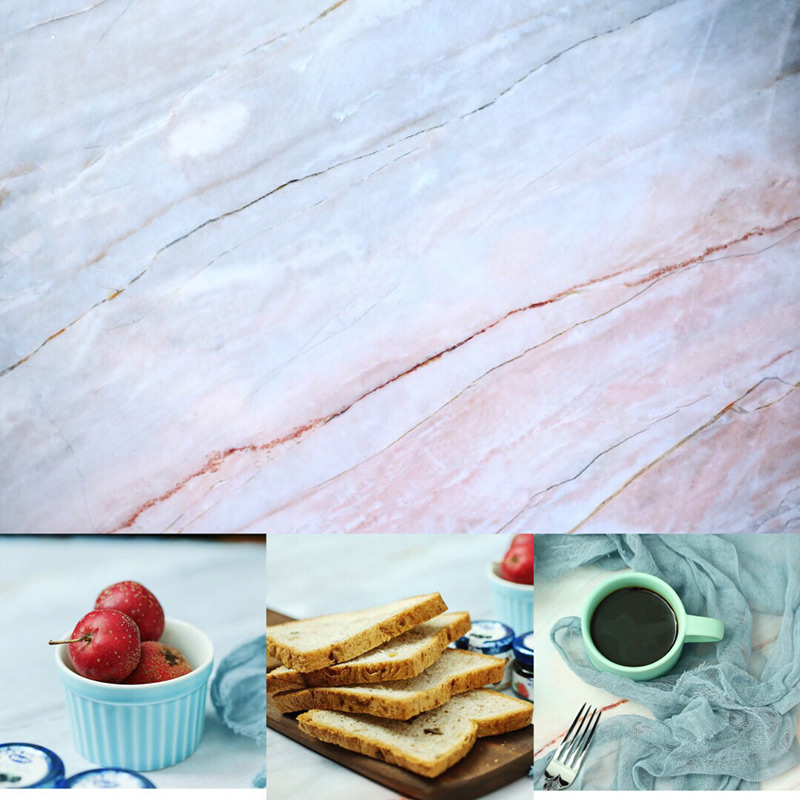 Reusable Simulation Cement Wall Woodgrain Marble Texture Double Sided Photography Background Paper Pad DIY Photo Studio Props in Photo Studio Accessories from Consumer Electronics