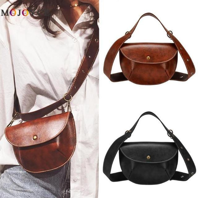 Multi-Use Leather Belt Bag  1