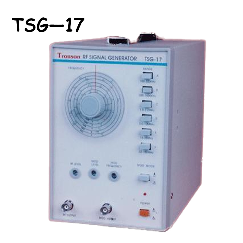 TSG-17 High Frequency Signal Generator from 100 KHZ to 150 MHZ Signal Frequency high frequency signal generator 100khz to 150mhz signal frequency