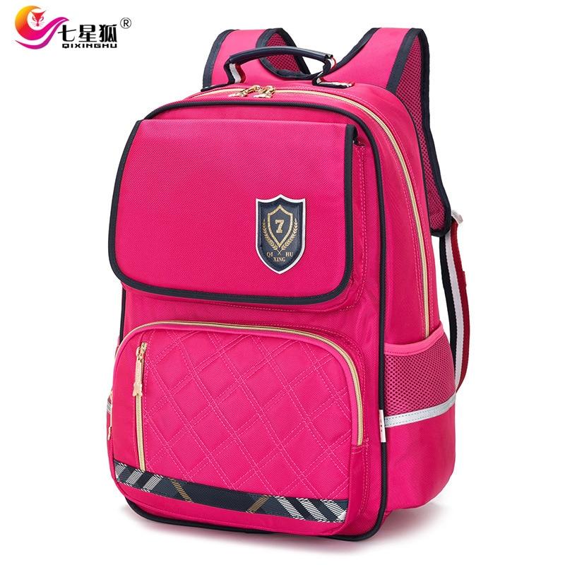 Waterproof Fashion Orthopedic Kids School Bags For Boys Girls Backpack Kid Primary School Backpacks Children Bookbag Mochilas