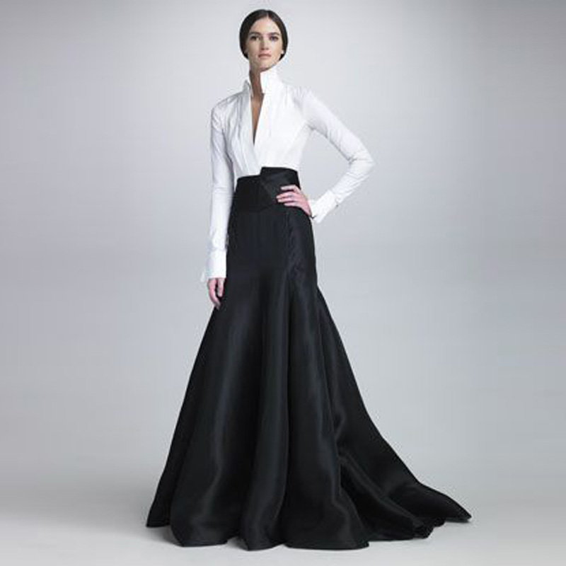 ad19ab652 Detail Feedback Questions about Chic Long Mermaid Satin Skirts 2018 Fashion  Custom Made Floor Length Women Evening Party Skirts Fashion Trends Maxi  Skirts ...