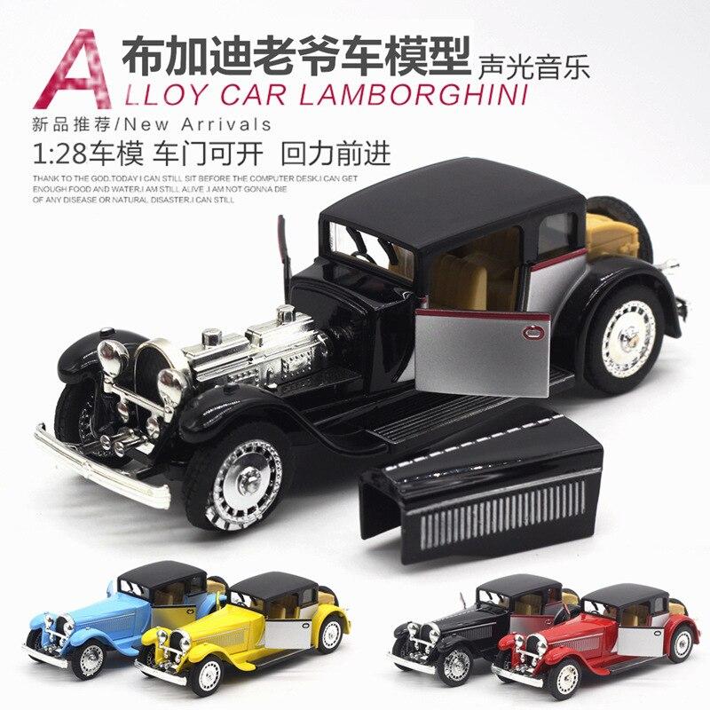 1:28 modelo de simulación de coche, modelo de coche de aleación. - Vehículos de juguete para niños - foto 2