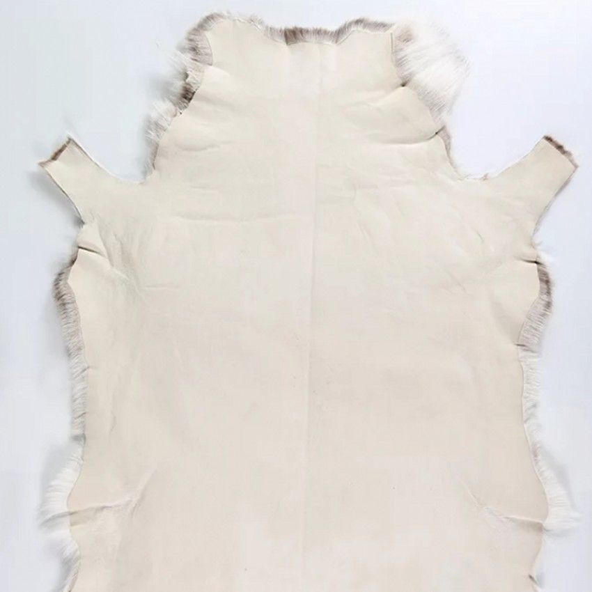 Alfombra de piel de piel de oveja Rosa piel piel cuero 100/% natural Reno Piel De Vaca
