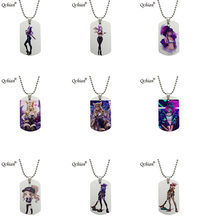 LOL KDA Cosplay Accessories Necklace KDA Ahri Props Akali Necklace Kaisa Evelynn Cute Ornament Gift KDA Group Necklace(China)
