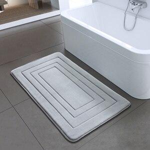 Image 5 - Высококачественный нескользящий коврик для ванной и спальни, коврик для душа из пенопласта для ванной, кухни, спальни 40x60 см, 50x80 см