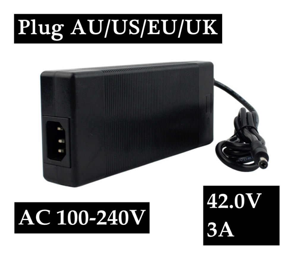 42В 3A Смарт Зарядное устройство для Е-байка 36В 37 V ионно-литиевая e-электровелосипед Батарея автостоп CE FCC CB PSE С сертификатом rohs для Австралии, США и Европы или Соединённого Королевства